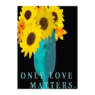 """StyleCraft Home Collection  DW32194DS """"Only Love Matters"""" Wall Decor"""