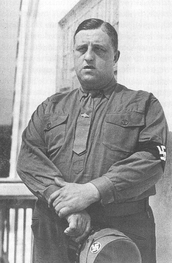 Frits Clausen (November 12, 1893 – December 5, 1947) , the leader of Denmark's own Nazi party. It was called the 'Danmarks Nationalsocialistiske Arbejderparti'.