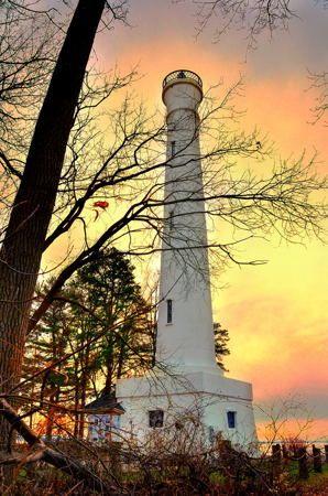 Verona Beach Lighthouse aka Sylvan Beach Lighthouse, Verona Beach State Park