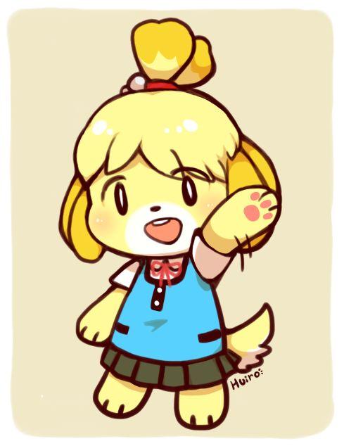 Isabelle Animal Crossing Fan Art Pinterest