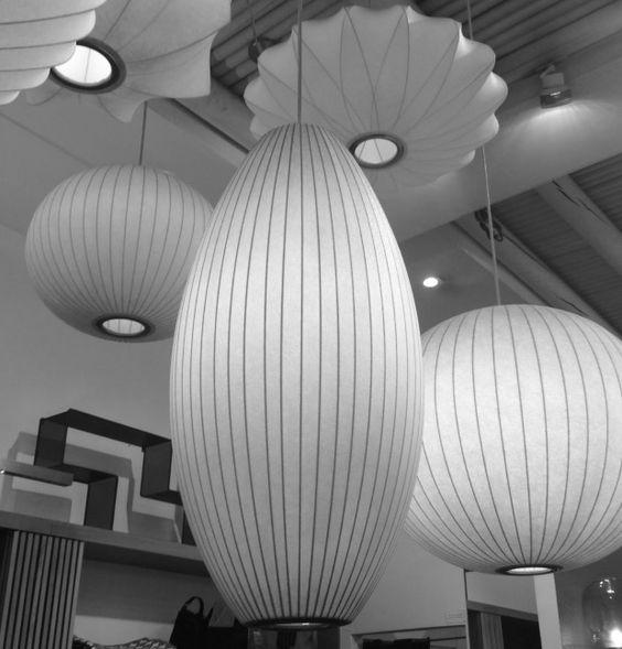 luminaire en papier design.