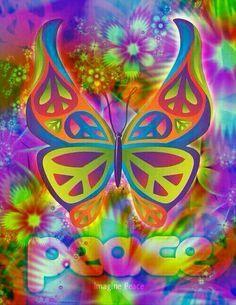 Peace Butterfly: