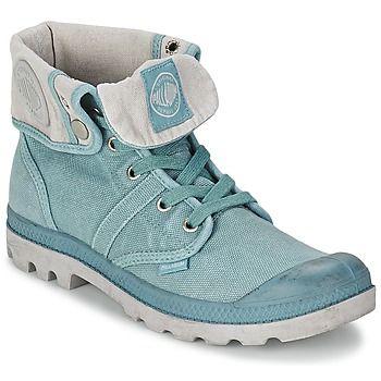 Boots / Chaussures montantes Palladium US BAGGY Bleu / Gris 350x350