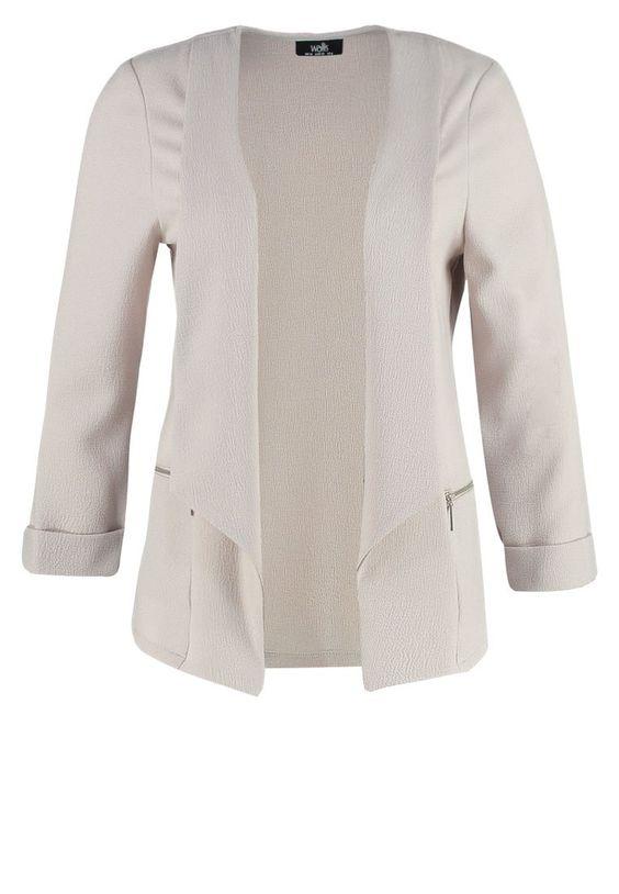 Wallis DAISY Blazer silver Bekleidung bei Zalando.de | Material Oberstoff: 97% Polyester, 3% Elasthan | Bekleidung jetzt versandkostenfrei bei Zalando.de bestellen!