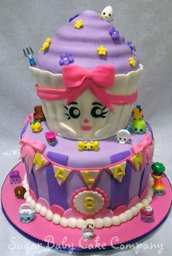 Shopkins Birthday Cake on Cake Central: