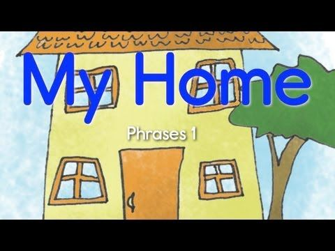 ▶ Learn HOME/HOUSE Vocabulary! (Chant Phrases 1): Beginners