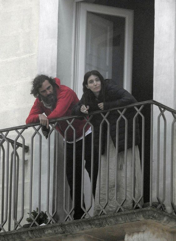 mary magdalene movie rooney mara   EXCLUSIVE: Joaquin Phoenix and Rooney Mara spotted at the balcony of ...