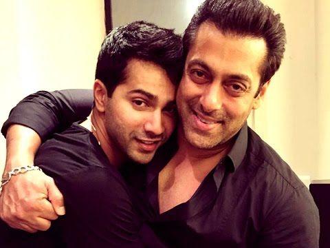 Salman Khan visits Dishoom set