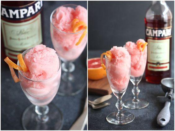 Grapefruit Campari Sorbet on eatboutique.com