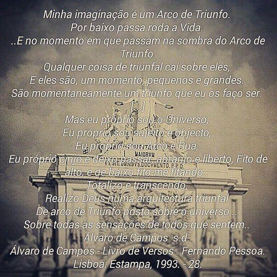 """""""#fernandopessoa #poesia #literatura #filosofiaportuguesa #somostodosum #transcendência #universo #deus #sagrado #profano #autoconhecimento #sabedoria…"""""""