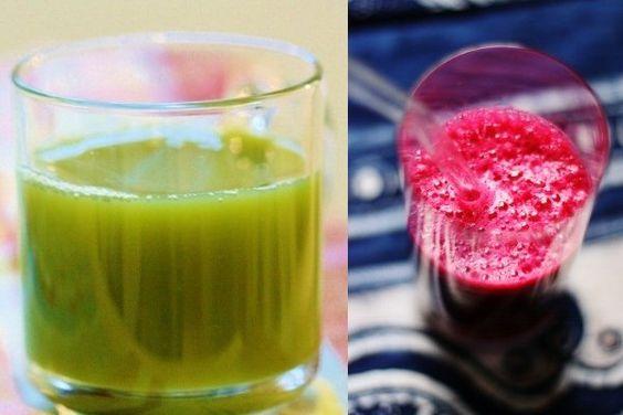 Dos zumos poderosos para comenzar el día.