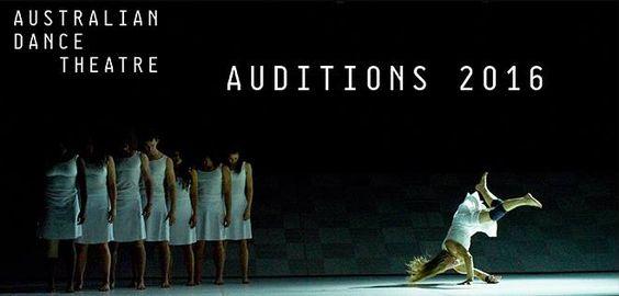 Audition Australian Dance Theatre #dance #audition