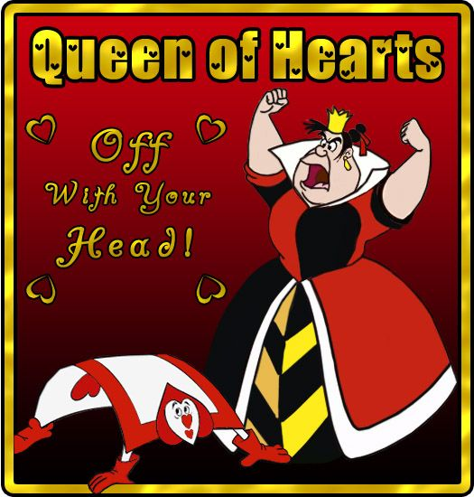 Queen of Hearts picture for frame