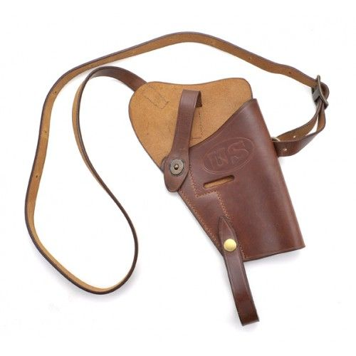 Us ww2 m3 colt 1911 45 shoulder holster premium drum dyed for Chaise us ww2
