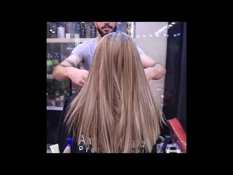 اجمل اصباغ الشعر 2019 صبغ لون شانيل احد الاعمال الجديدة صالون احمد مراد Youtube Hair Styles Hair Beauty