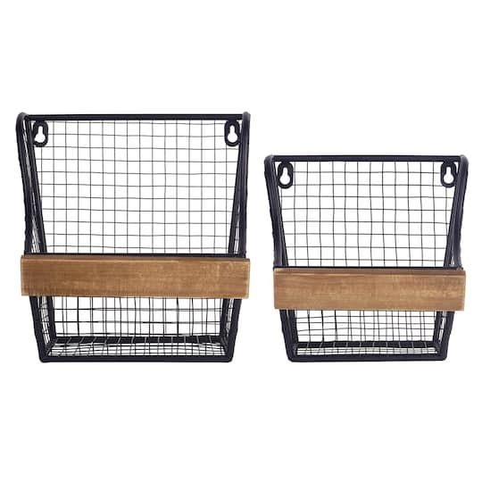 Find The Wall Basket Set By Studio Decor At Michaels Baskets On