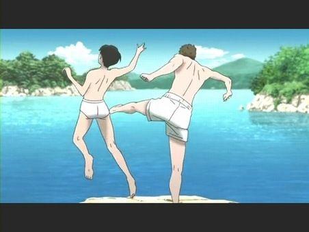 Kids on the Slope | Sakamichi no Apollon | Kaoru Nishimi & Sentarou Kawabuchi | Shinichiro Watanabe | Anime | Screenshot | Quote | Sailormeowmeow