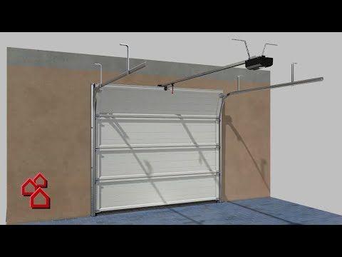 Garagentor Isomatic Montage Anleitung Bauhaus Youtube
