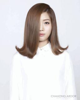 Out-Curl Cushion Perm #medium #hair #beauty #cut #chahongardor