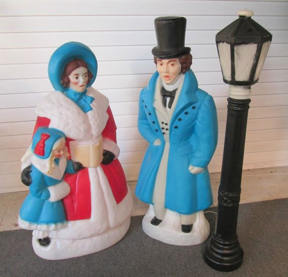 Lighted Holographic Two Snowman Carolers Christmas Outdoor: Pinterest • The World's Catalog Of Ideas