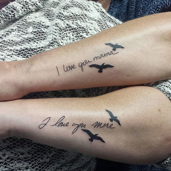 50 tatouages liant à jamais ces mamans à leur fille pour symboliser leur…