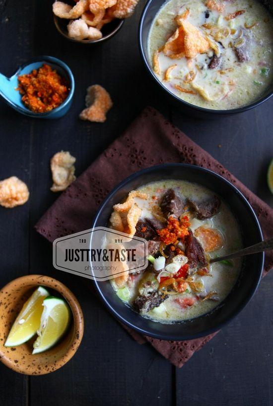 Resep Soto Daging Betawi Resep Resep Masakan Makanan Minuman