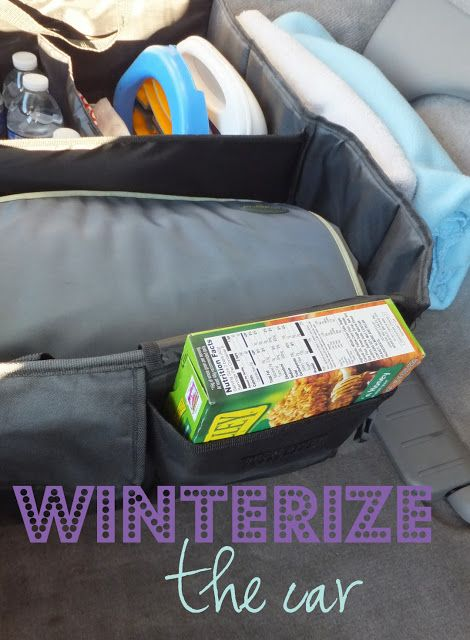 Winterize the car...with free printable checklist!