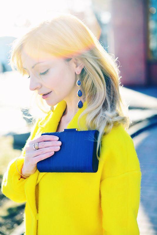 #yellow #coat