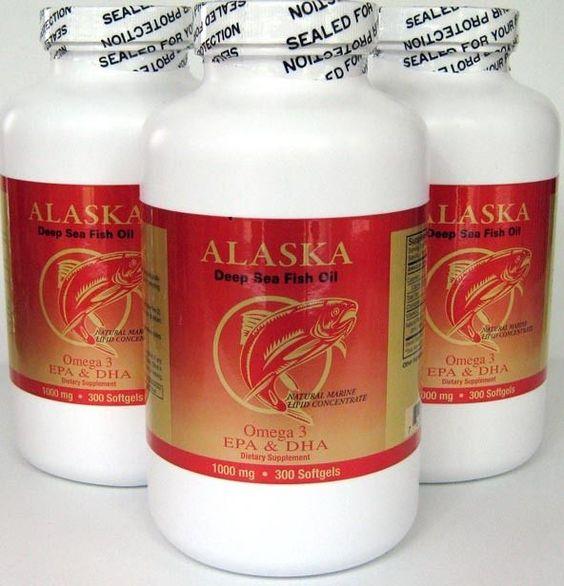 Details About 3 X Omega 3 Alaska Deep Sea Fish Oil 1000mg 300 Sg