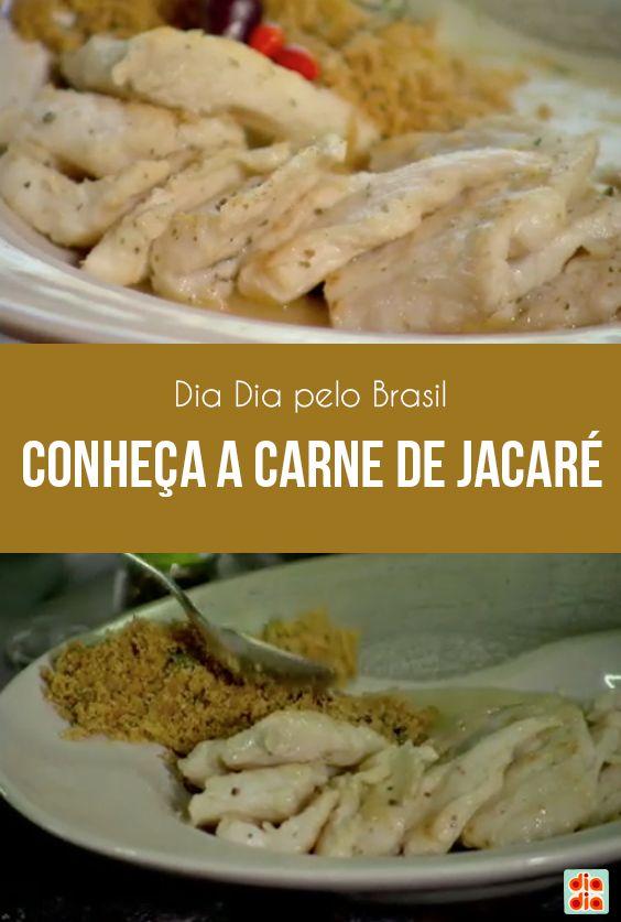 No Mato Grosso a carne de jacaré é puro sucesso. Aprenda a preparar essa comida diferente!