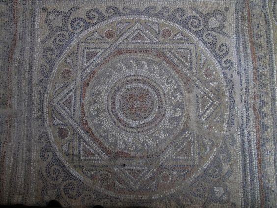 Mosaic floor in Rome
