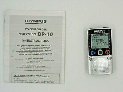Olympus Dp 10 Handheld Digital Voice Recorder 50332175532 Ebay In 2020 Voice Recorder Olympus The Voice