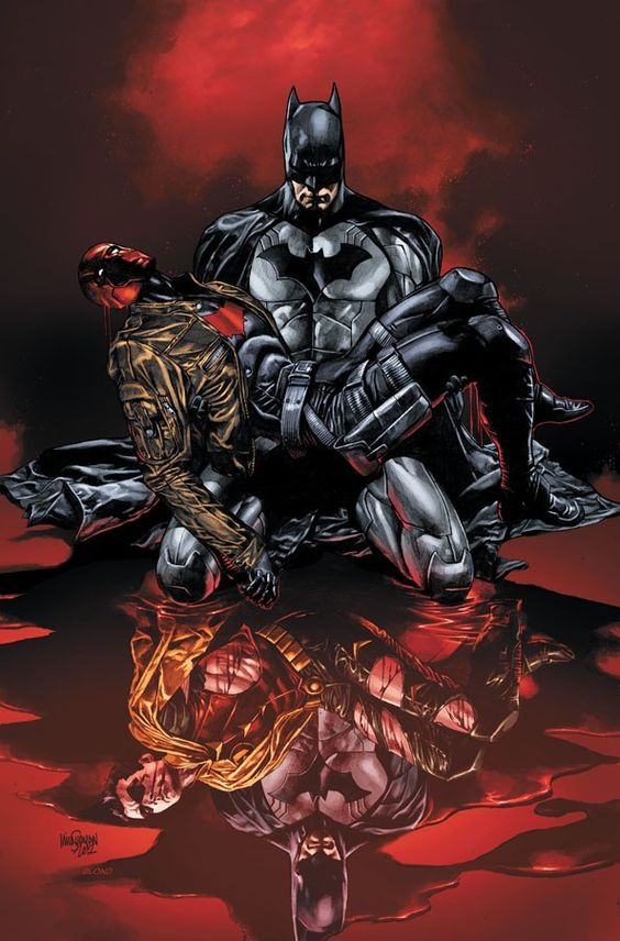 Cover to Red Hood and the Outlaws #17 by Mico Suayan