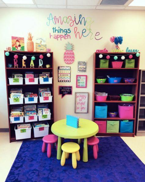 35 Smart Classroom Ideas From Real Life Teachers Classroom Decor Kindergarten Classroom Setup Teacher Classroom