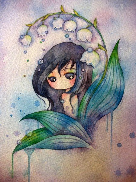 ♡Chibi Fairy Watercolor♡