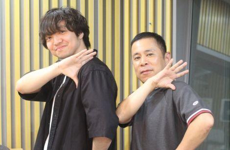 三浦大知さんと岡村隆史さん
