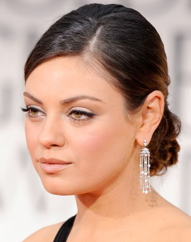 Get the Look: Mila Kunis at the 2012 Golden Globes.