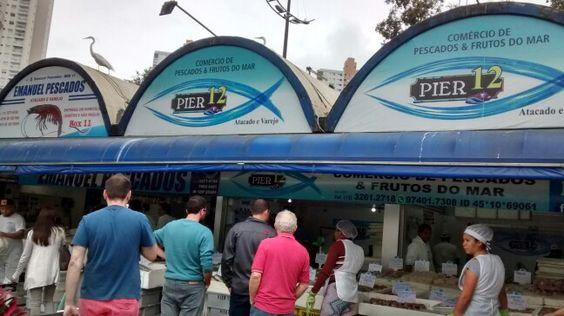Mercado de peixes/ Ponta da Praia - Santos/BR
