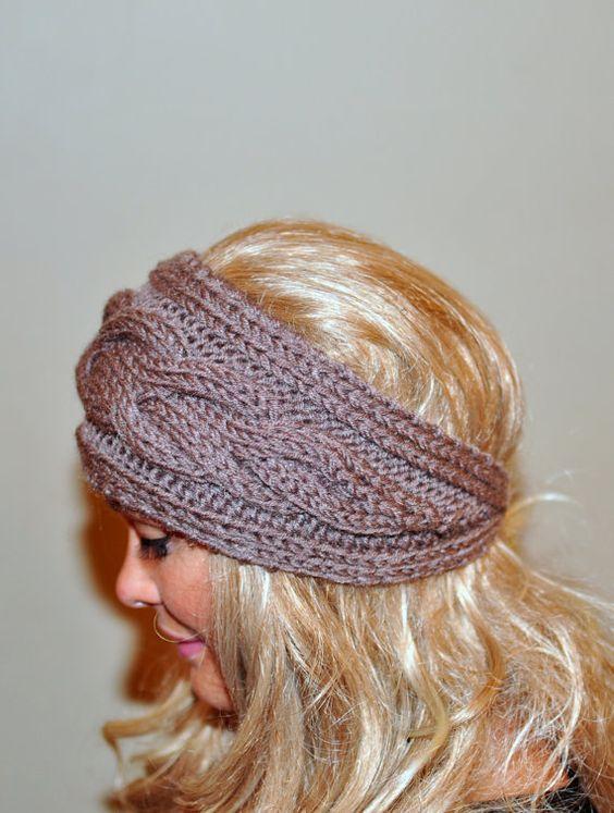 crochet headband headband pinittomakeit headband chunky headbands ...