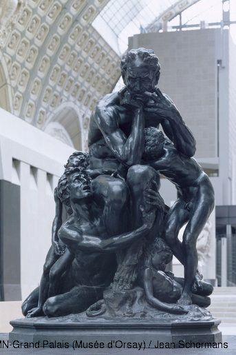 Musée d'Orsay Jean-Baptiste Carpeaux (1827-1875) Ugolin 1862 Bronze fondu par Victor Thiébaut H. 194 ; L. 148 ; P. 119 cm