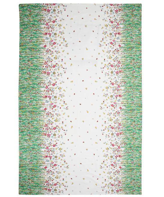 Grass Liberty Print Tablecloth