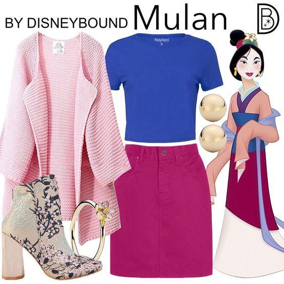 15 Outfits inspirados en tus personajes favoritos de Disney   OkChicas