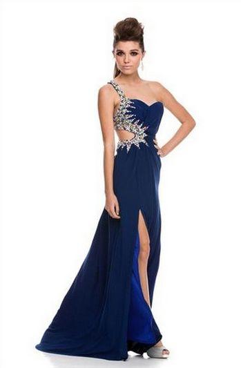 PRIMA Glitz GZ1528 Jewel Lined Cut Out Backless Prom Dress  Prom ...