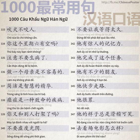 1000 Câu Khẩu Ngữ - Phần 22: