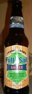 Cerveja Full Sail Amber, estilo American Amber Ale, produzida por Full Sail Brewing Co., Estados Unidos. 5.5% ABV de álcool.