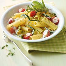 Rigatoni mit Zucchini