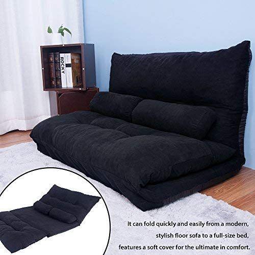 Best Seller Merax Floor Sofa Bed Adjustable Sleeper Bed Chair