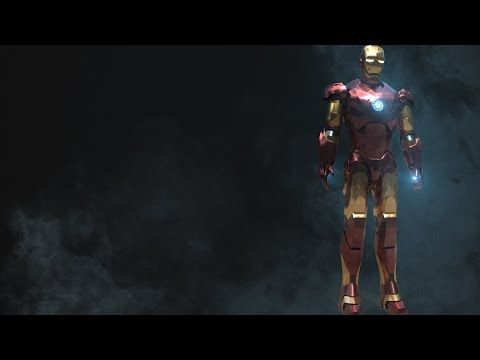 Modeling Ironman 3ds max tutorial part - 1 - YouTube