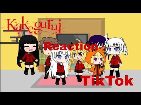 Kakegurui Reaction To Tiktok Gacha Club Youtube Club Character Reactions