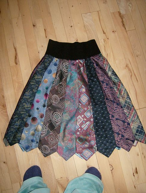Tie Skirt....really want to make one of these!